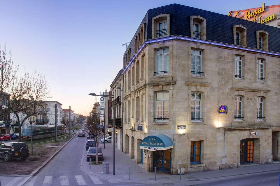 Best Western Gare Saint Jean  - Exterieur.JPG