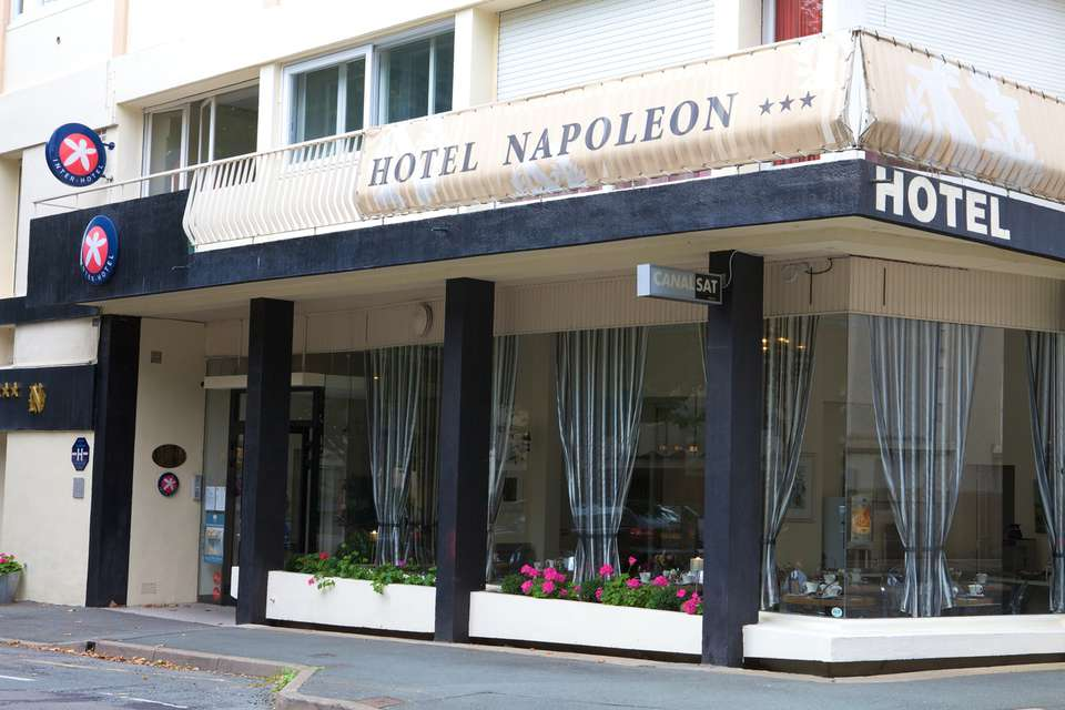The Originals City, Hôtel Napoléon, La Roche-sur-Yon (Inter-Hotel) - Front