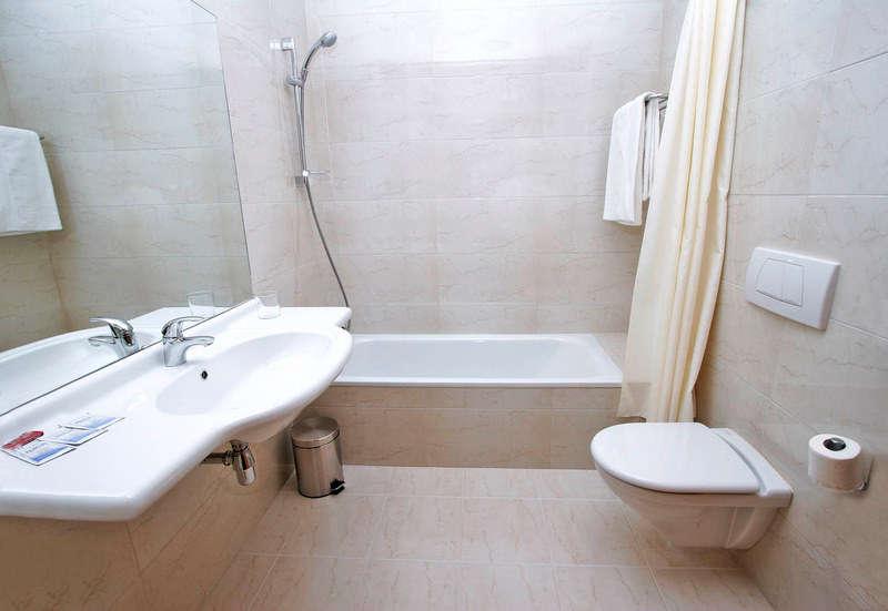 Hotel Agorreta - Bathroom