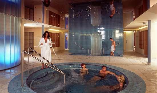 Week end thalasso mondorf les bains avec 1 soin au choix for Piscine mondorf