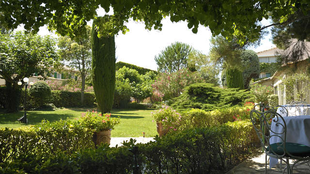 Auberge de Cassagne et Spa - Auberge de Cassagne jardin