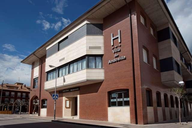 Hotel Villa de Andosilla - Front