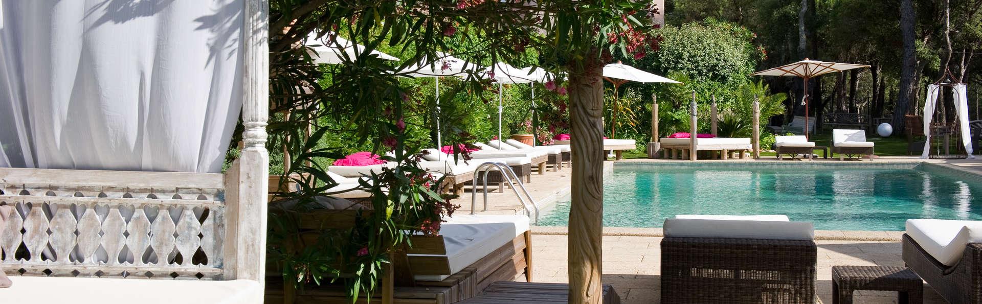 Week-end romantique dans un hôtel de charme à deux pas de Saint-Tropez