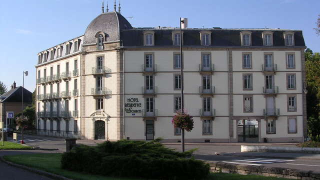 Hotel Residence les Sources - Luxeuil les Bains - facade