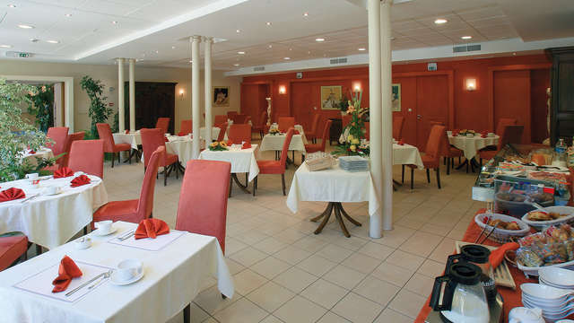 Hotel Residence les Sources - Luxeuil les Bains - resto