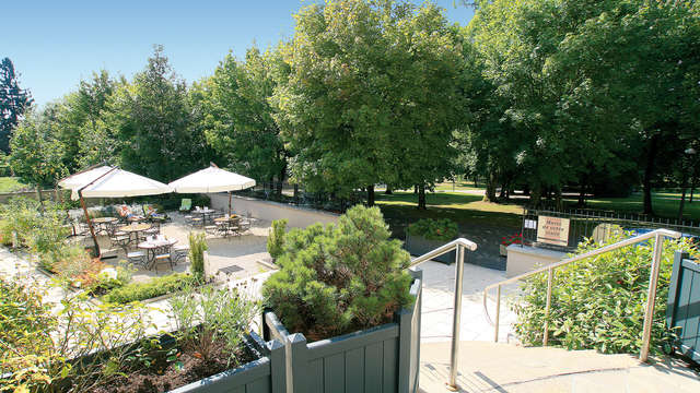 Hotel Residence les Sources - Luxeuil les Bains - terrasse