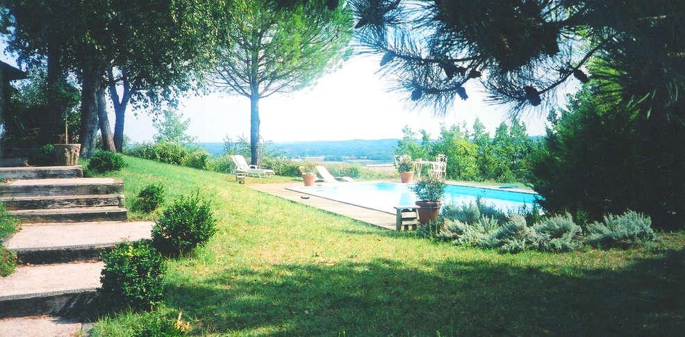 Maison de manon lamothe capdeville france for Jardin tecina booking