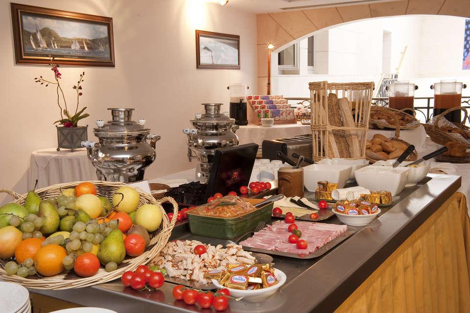 Hôtel Aston La Scala - Salle de petit déjeuner