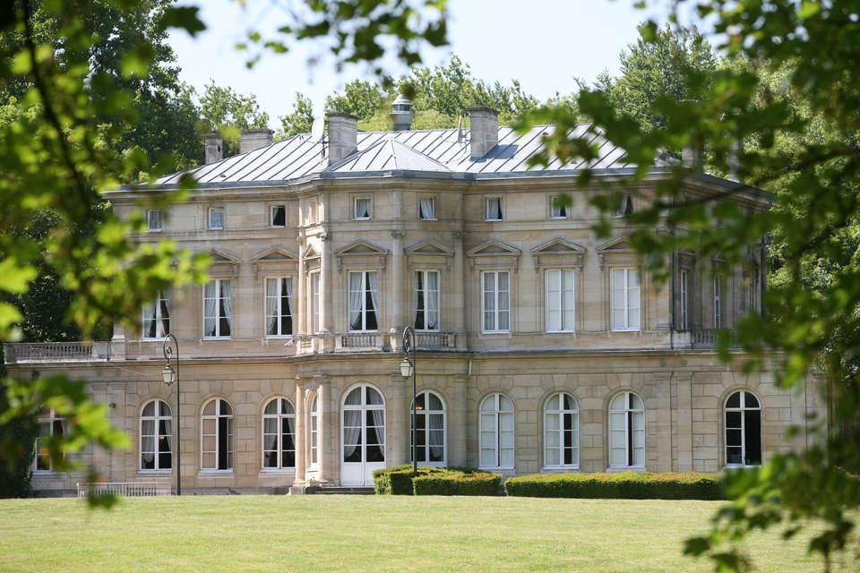 Château de La Motte Fenelon  - Chateau_parc.jpg