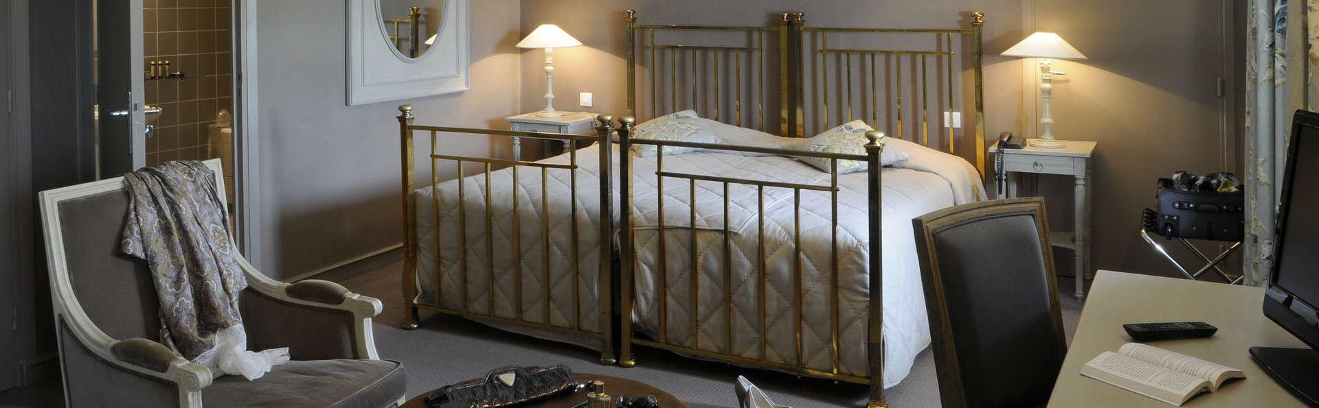 Hôtel Le Splendid - Chatelguyon - chambre double