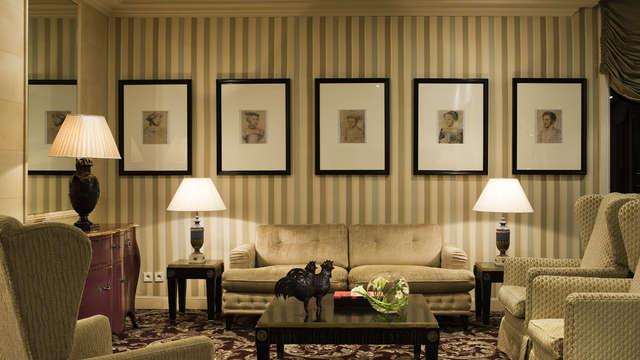 Hotel Chateau Et Spa Grand Barrail - Hall de reception Salon