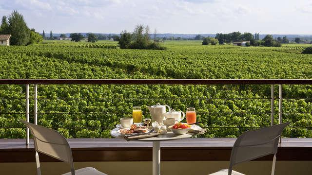 Hotel Chateau Et Spa Grand Barrail - Vue Vignoble de la chambre Hotel Grand Barrail