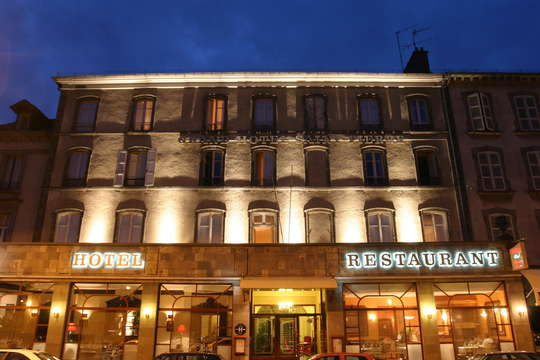 Hotel The Originals Aurillac Grand Hotel Saint-Pierre ex Qualys-Hotel