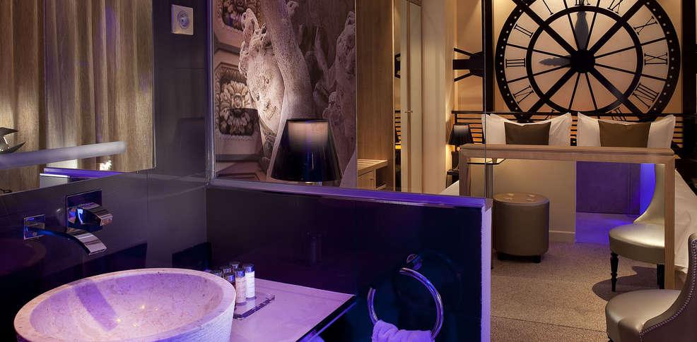 Secret de paris design hotel 4 paris france for Hotel design wallonie