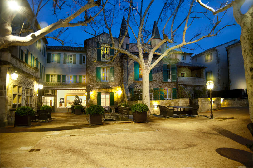 Le Prieuré - Villeneuve les Avignon - Façade