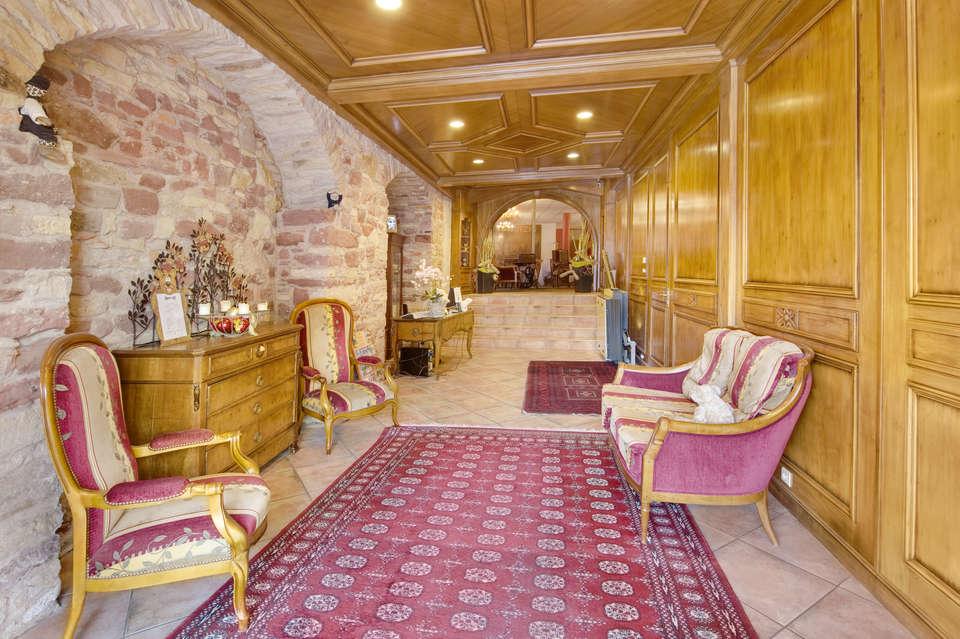 Hôtel L'Ours de Mutzig - Hall d'entrée