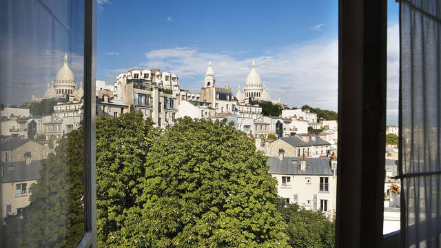Timhotel Montmartre - paris view