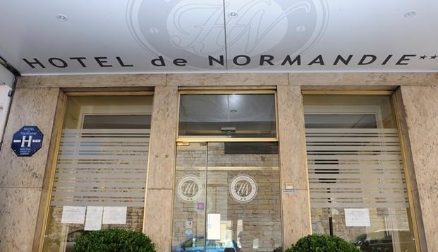 Hotel de Normandie - hotel de normandie facade