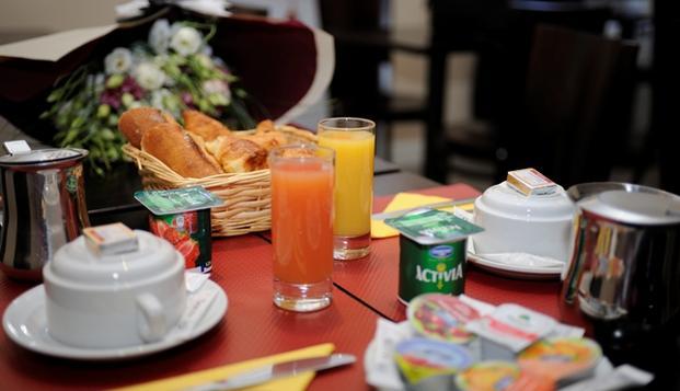 Hotel de Normandie - hotel de normandie petit dejeuner