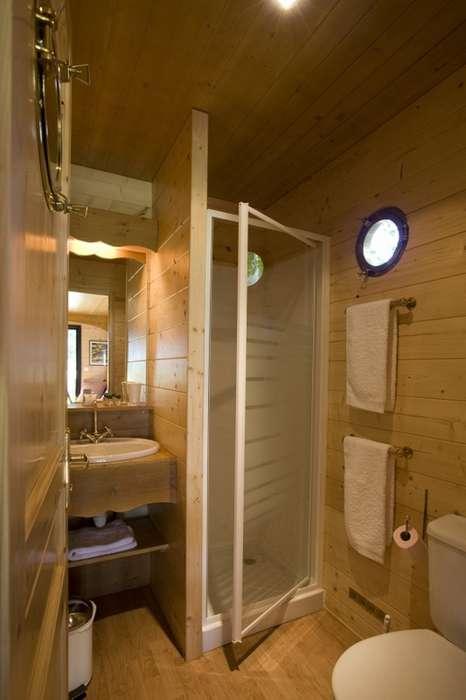 Gites et roulottes de charme - Salle de bain