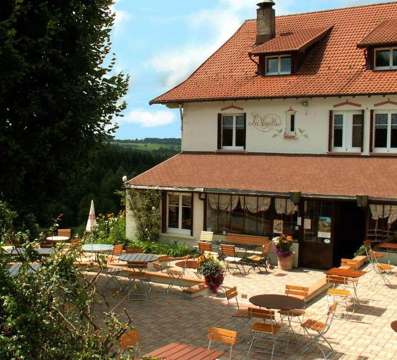 Hôtel Restaurant de la Vigotte - Façade
