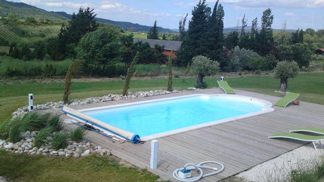 acceso a la piscina exterior para 2 adultos (día 1 y día 2)