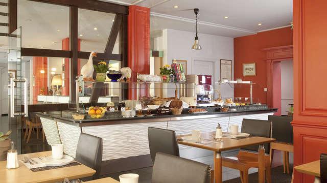 Le Colombier Obernai - colombier obernai salle dejeuner bd
