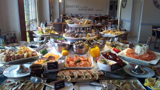 Hotel Kyriad Prestige - Bordeaux Merignac - kyriad prestige buffet produits de la mer