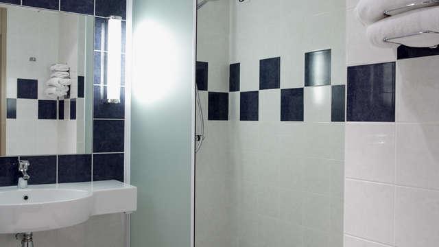 Hotel Kyriad Prestige - Bordeaux Merignac - kyriad prestige salle de bain