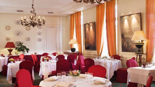 Hotel La Petite Verrerie - salle de restaurant