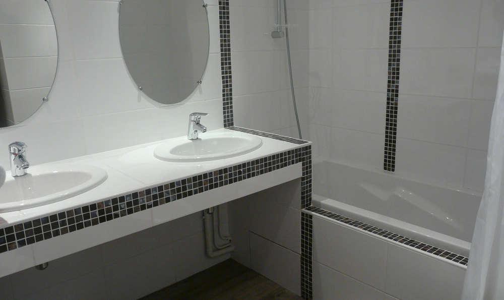 Hôtel Restaurant Les Coquelicots, The Originals Relais (Inter-Hotel) - Standard bathroom