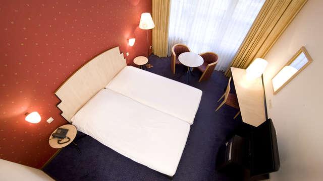 1 overnachting in een tweepersoons kamer comfort voor 2 volwassenen