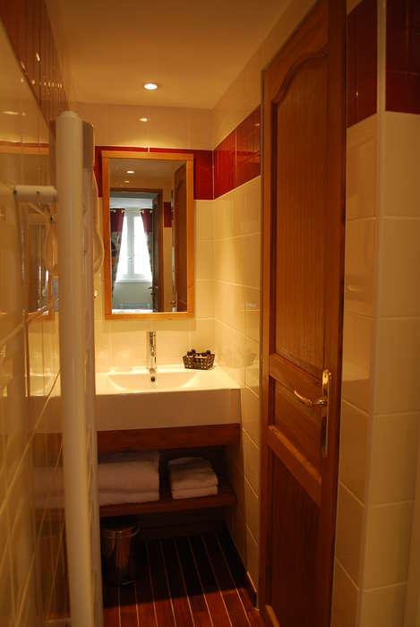 Hôtel Entre Terre et Mer - Salle de bain