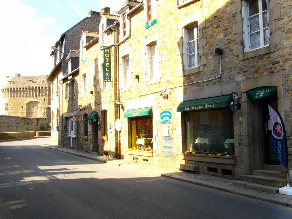 The Originals Boutique, Hôtel du Château, Dinan (Inter-Hotel) - IMGP0783.JPG