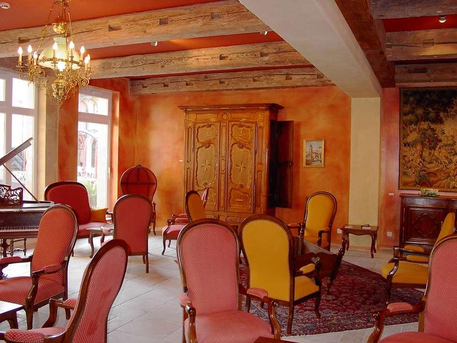 Hôtel du Théâtre (Metz) - hoteldutheatre_salon.JPG