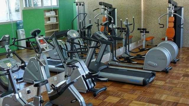acceso al gimnasio