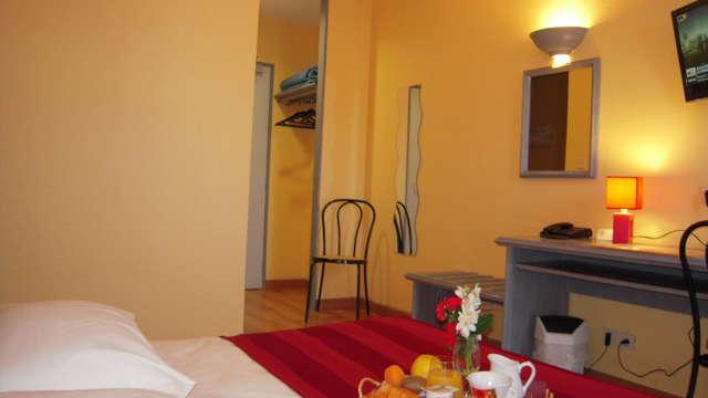 INTER-HOTEL Belfort Sud Le Louisiane - inter hotel le lousiane chambre