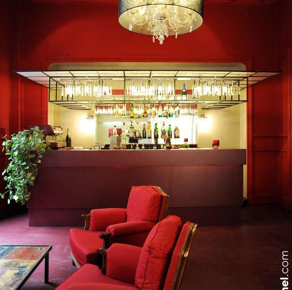 The Originals City, Hôtel Le Cheval Noir, Saint-Étienne (Inter-Hotel) - Bar