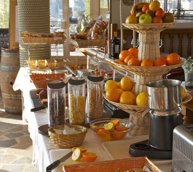 Hotel Ostrea et sa Villa - Breakfast