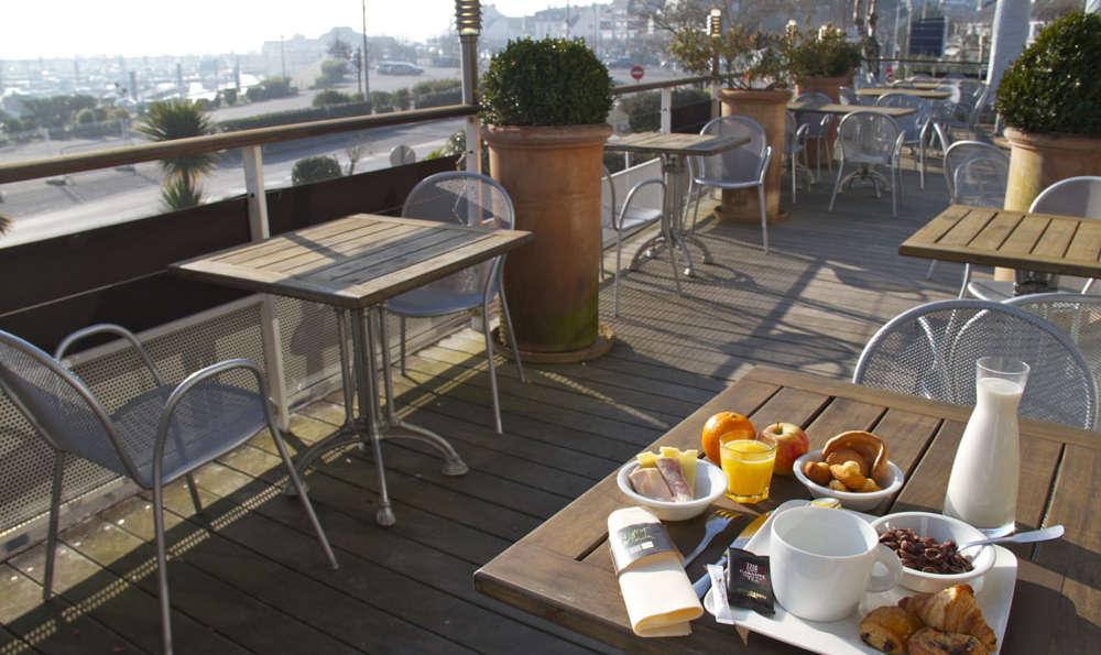 Hotel Ostrea et sa Villa - Terrace
