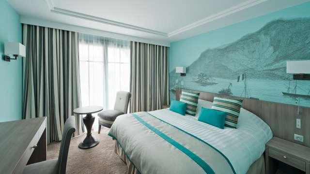 Hotel et Spa le Nouveau Monde - Le Nouveau Monde Chambre Sud JC Valienne