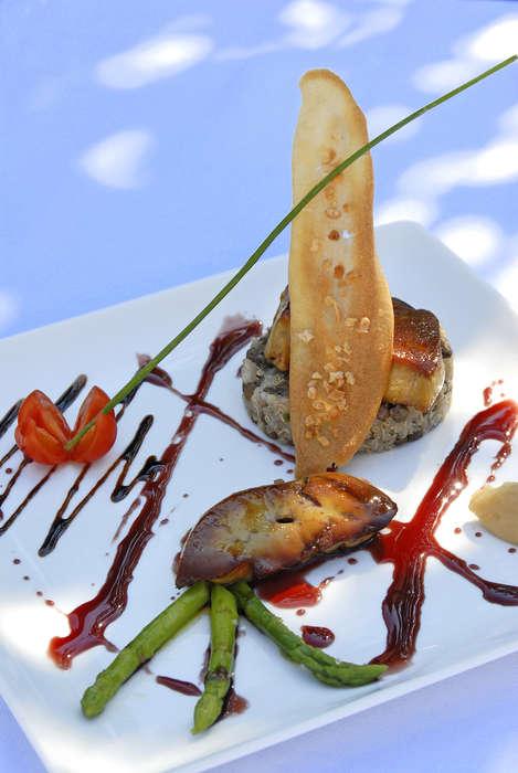 Hôtel - Restaurant Le Rocher Blanc - Plat