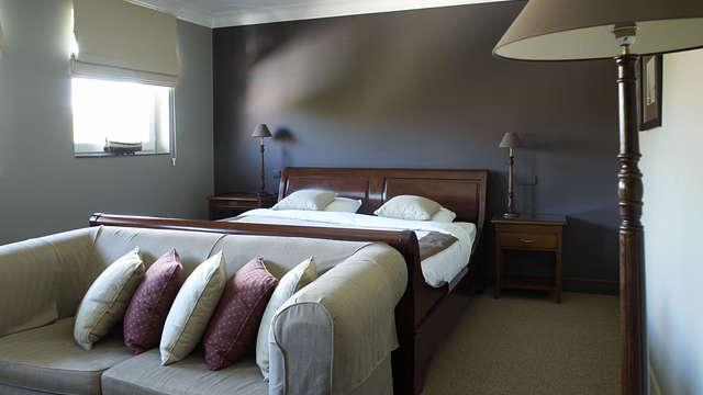 1 overnachting in een standaard tweepersoons kamer met tuinzicht voor 2 volwassenen