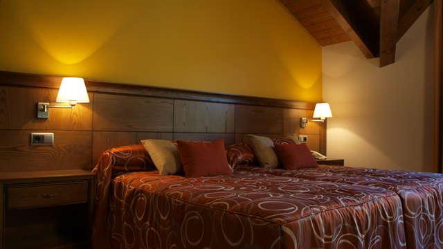 3 noches en habitación doble estándar vista a la montaña para 2 adultos