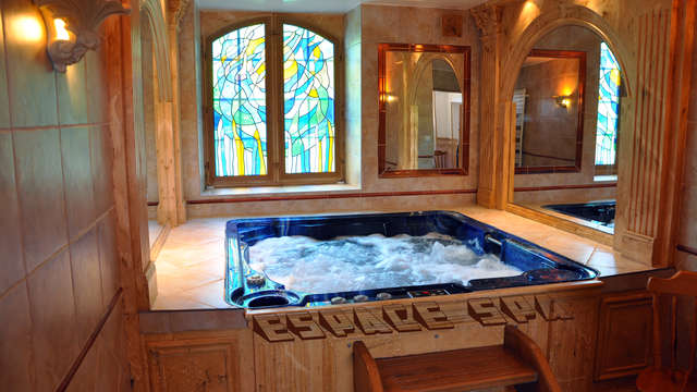 1 accès au spa privé pour 2 adultes