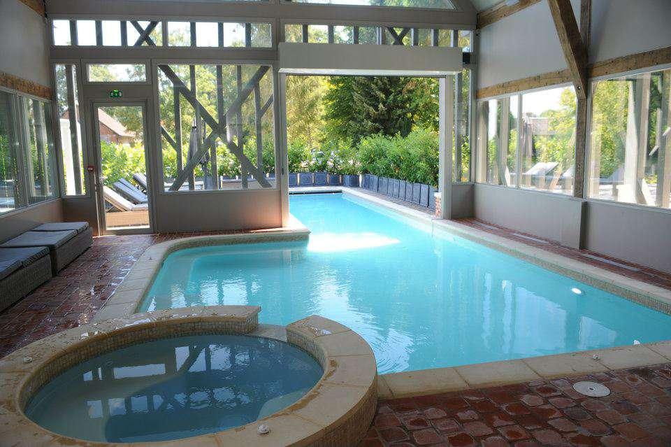 Hôtel du Grand Cerf & Spa - Indoor swimming pool