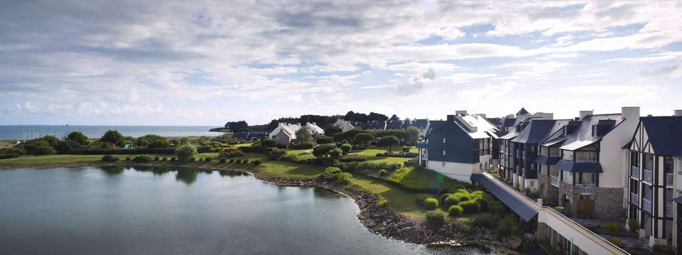 Pierre et Vacances Village Port du Crouesty - Vue aérienne