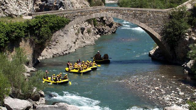 Descente en rafting sur la rivière Ésera pour 2 adultes