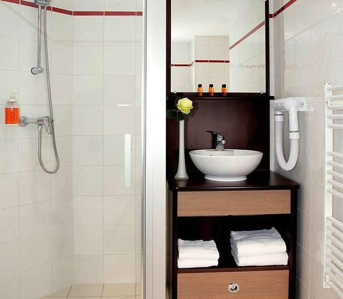 Appart'City Marseille Euromed - Standard bathroom