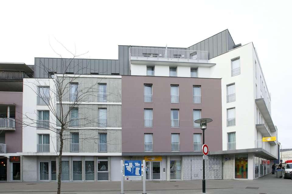 Appart'City Nantes Cité des Congrés - Front